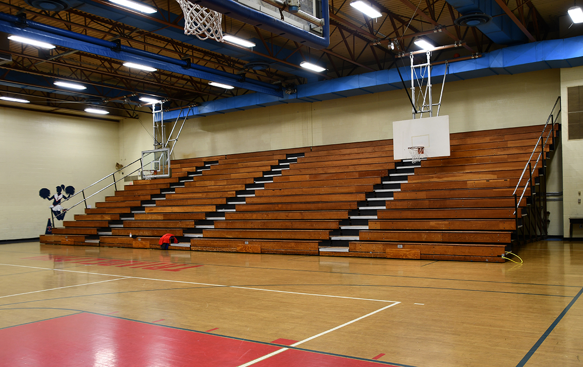 Original bleachers